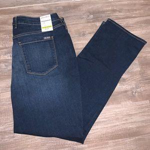 Eddie Bauer Curvy Straight Leg Jeans.